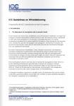 ICC Guidelines on Whistleblowing / Руководство ICC по системе внутреннего информирования