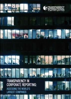 Transparency in corporate reporting: 2012